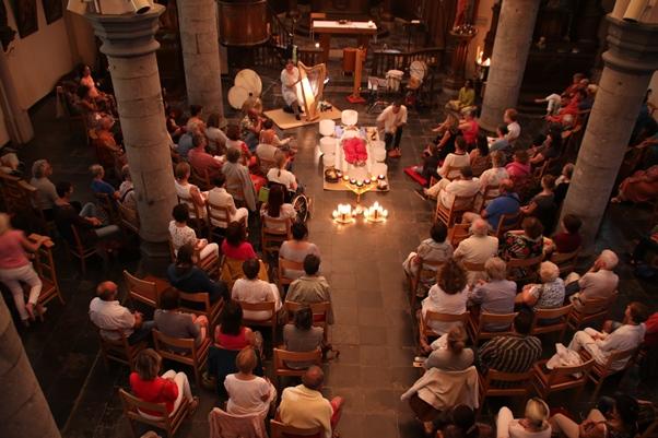 Concert en église romane