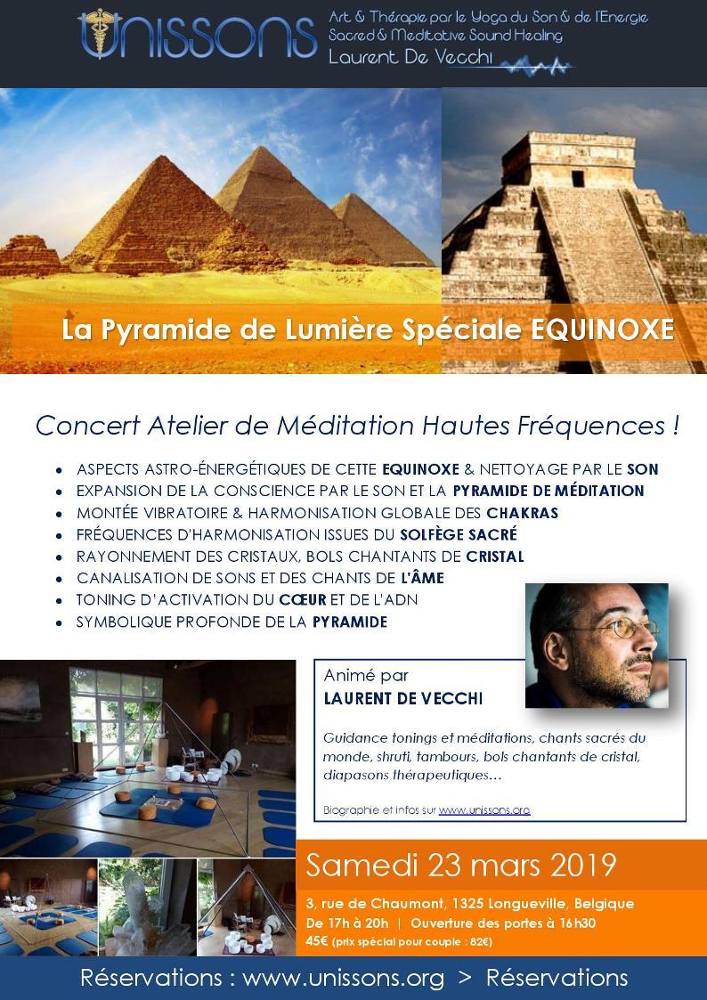 Pyramide de Lumière Equinoxe
